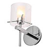 Forum Gene Chrome Cylinder Wall Light - SPA-31725-CHR profile small image view 1