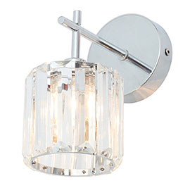 Forum Pegasi Bathroom Wall Light - SPA-33932-CHR