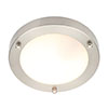 Forum Delphi Small Satin Nickel Flush Ceiling Light Fitting - SPA-34049-SATNIC profile small image view 1