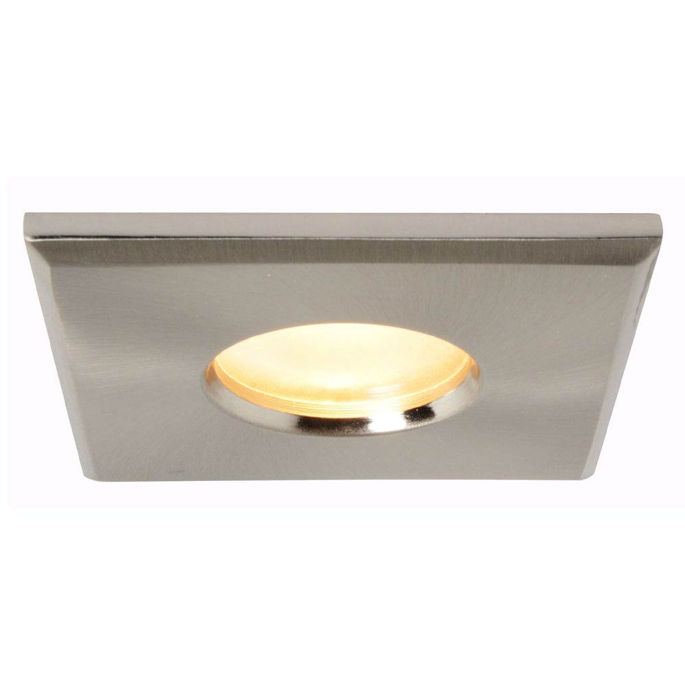 Forum Lynx Recessed Downlight - Satin Nickel - SPA-BA50.1009-SN profile large image view 1