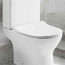 Eclipse Soft Close Toilet Seat Medium Image