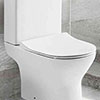Eclipse Soft Close Toilet Seat profile small image view 1
