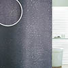 Sparkle Swirl W1800 x H1800mm Polyester Shower Curtain - Black profile small image view 1