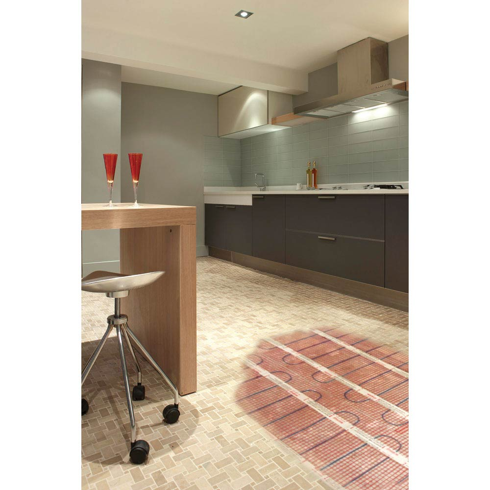 Warmup 200W/m2 StickyMat Underfloor Heating System  Profile Large Image