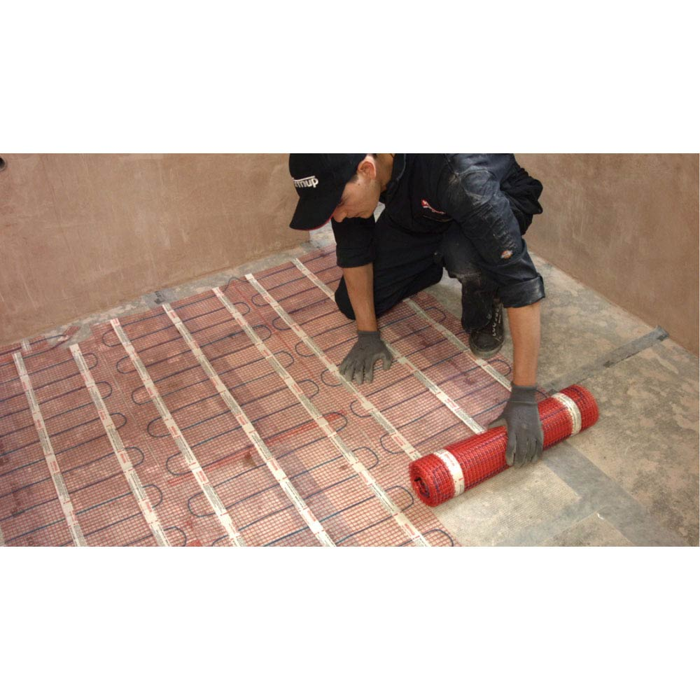 Warmup 200W/m2 StickyMat Underfloor Heating System  Feature Large Image