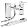 Empire Waterfall Bath Shower Mixer with Shower Kit profile small image view 1