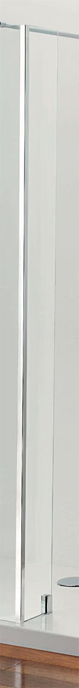 Coram - Stylus 200mm Return Glass Shower Panel - SPS02CUC Large Image
