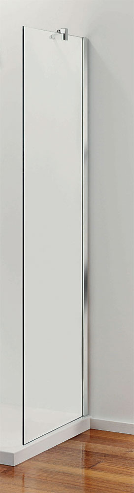 Coram - Stylus 700mm End Glass Shower Panel - SPS70CUC Large Image