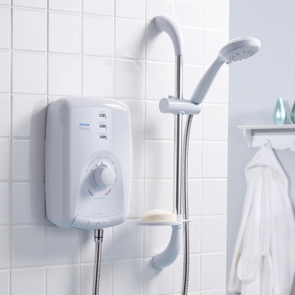 Triton T150z 9.5 kw Electric Shower - SPSG09WC profile large image view 4