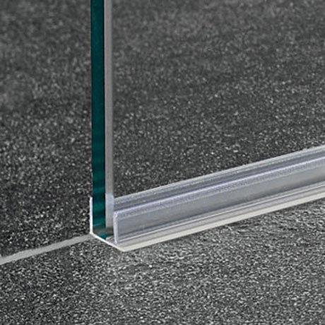 Coram - Acrylic Seal for Glass Shower Panel - SPSL12 Large Image