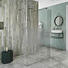 Coram Stylus Wetroom Screen with Modesty Panel profile small image view 1