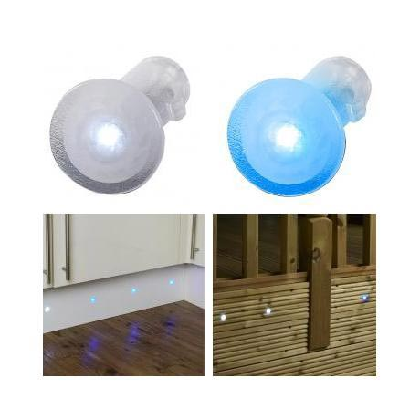 Endon Tuck IP67 Translucent LED Mini Spot Light Kit - 2 Colour Options