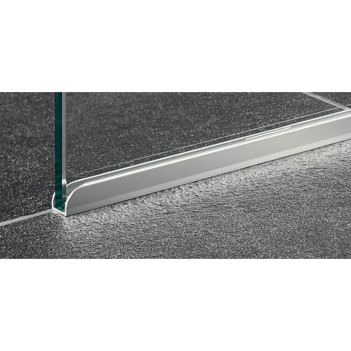 Coram - Chrome Trim for Glass Shower Panel - SPTM12C profile large image view 3