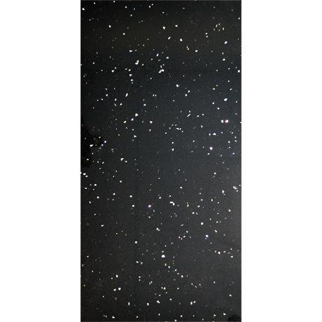 Stardust Quartz Black Wall and Floor Tile - 600 x 300mm