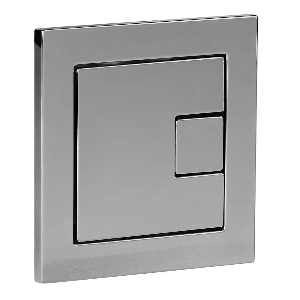Tavistock Square Dual Flush Button - SQFB Profile Large Image