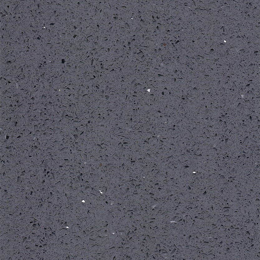 Stardust Quartz Grey Floor Tile - 600 x 600mm Large Image