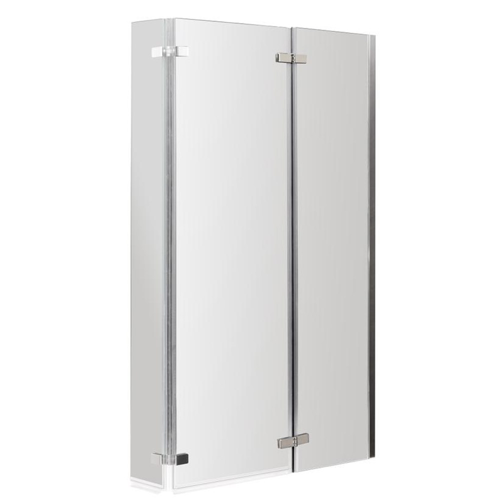 Premier 1500mm L-Shaped Shower Bath R/H with Acrylic Front Panel & Screen profile large image view 4