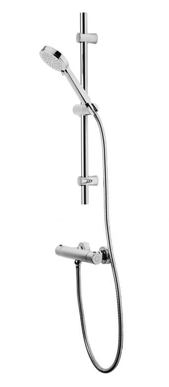 Tavistock Quantum Thermostatic Bar Valve Shower System Large Image