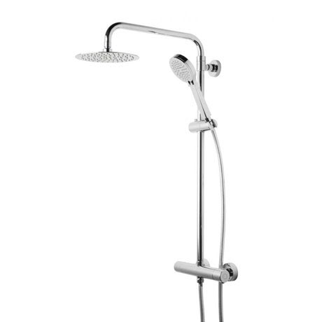 Tavistock Quantum Thermostatic Diverter Bar Valve with Shower Head System