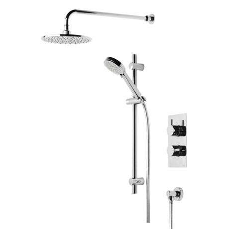 Tavistock Quantum Thermostatic Concealed Dual Function Diverter Valve Shower System