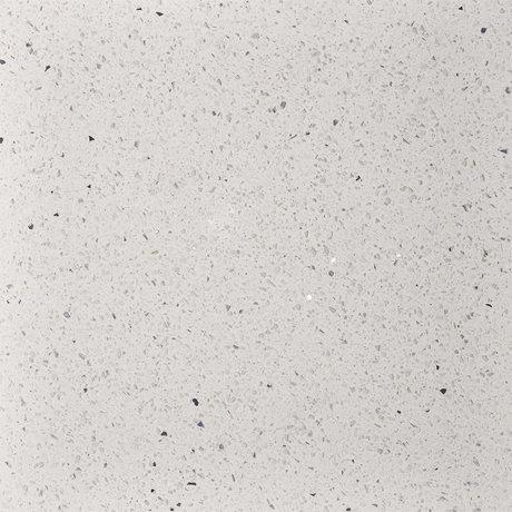 Stardust Quartz White Floor Tile - 600 x 600mm