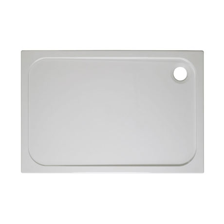 Simpsons Rectangular 45mm Low Level Stone Resin Shower Tray with Waste - Various Size Options
