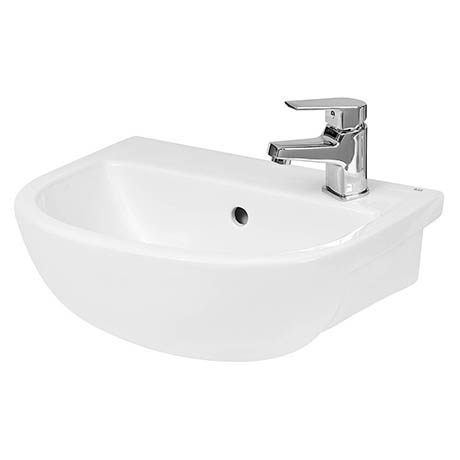 Hudson Reed Oculus 400mm Semi Recessed Basin - SRB002