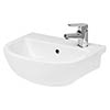 Hudson Reed Oculus 400mm Semi Recessed Basin - SRB002 profile small image view 1