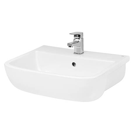 Hudson Reed Fossil 520mm Semi Recessed Basin - SRB003