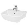 Hudson Reed Aria 420mm Semi Recessed Basin - SRB004 profile small image view 1