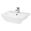Hudson Reed Lynx 500mm Semi Recessed Basin - SRB005 profile small image view 1