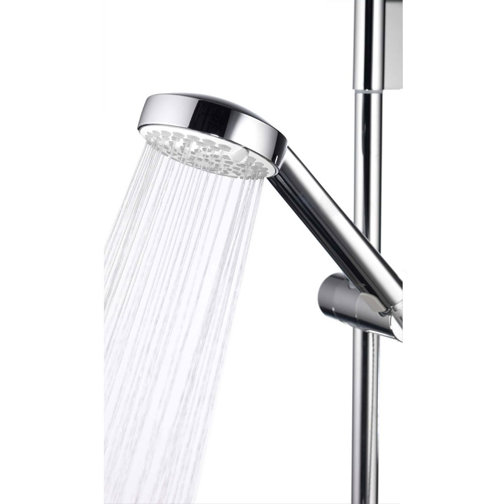 Aqualisa - Aspire DL Exposed Thermostatic Shower Valve with Slide Rail Kit - ASP001EA profile large image view 2