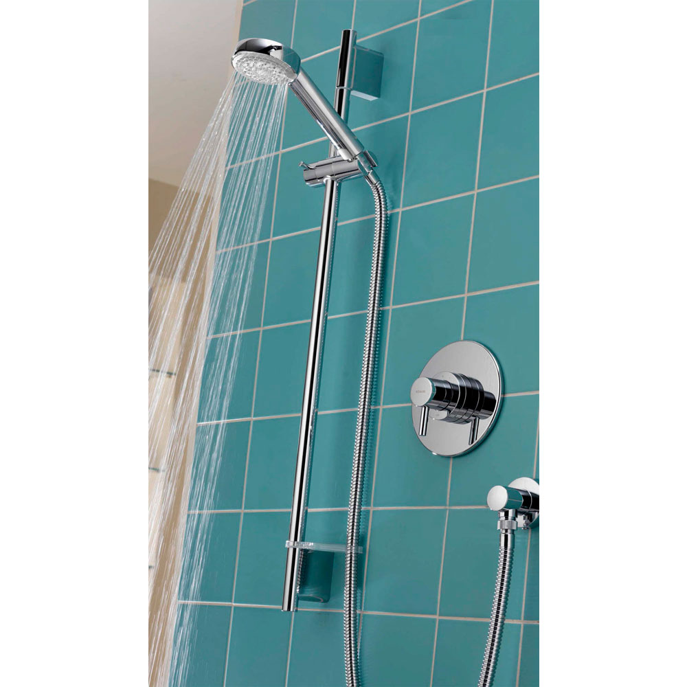 Aqualisa - Siren SL Concealed Thermostatic Shower Valve with Slide Rail Kit - SRN001CA profile large image view 4