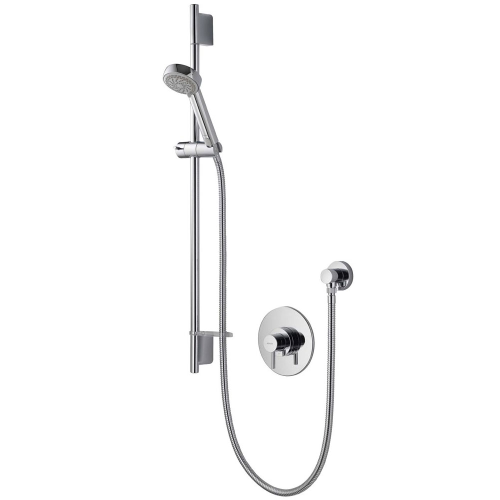 Aqualisa - Siren SL Concealed Thermostatic Shower Valve with Slide Rail Kit - SRN001CA profile large image view 1