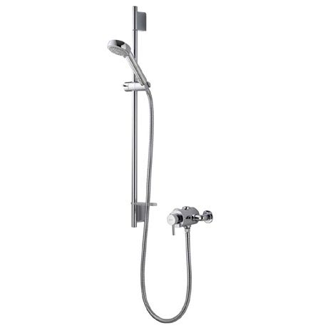 Aqualisa - Siren SL Exposed Thermostatic Shower Valve with Slide Rail Kit - SRN001EA