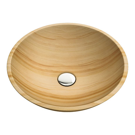 Sandstone 420mm Round Basin 0TH - SS001