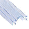 1500mm Folding Shower Screen Seal Strip for 4-6mm Glass profile small image view 1