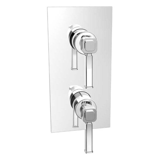 Heritage Somersby Concealed Dual Control Valve - SSOBC01 profile large image view 1