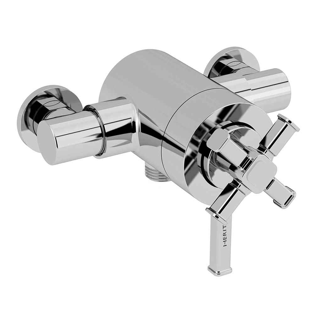 Heritage Somersby Exposed Shower Valve with Bottom Outlet Connection - SSOBCB03