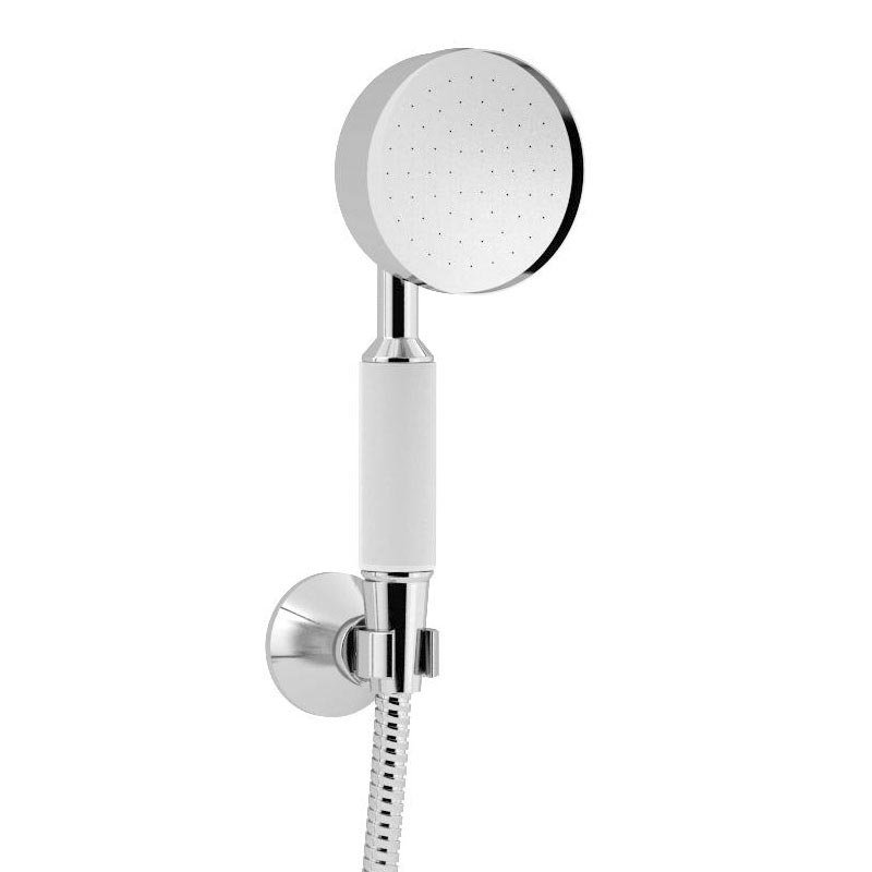 Heritage Somersby Exposed Shower with Deluxe Fixed Riser Kit & Diverter to Handset - Chrome - SSOBDUAL04  Standard Large Image