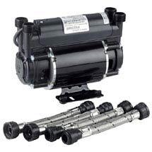 Bristan - 1.5 Bar Twin Impeller Shower Pump - ST-PUMP15TN Medium Image