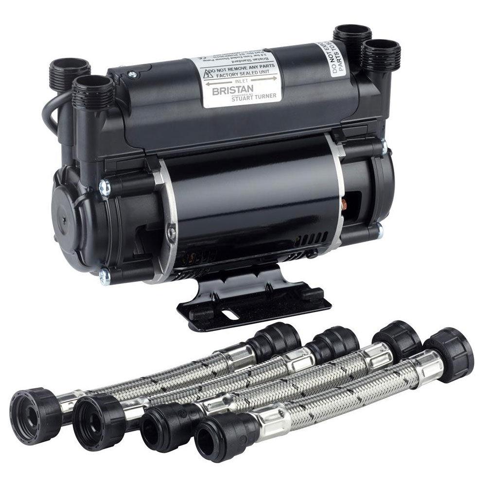 Bristan - 2.0 Bar Twin Impeller Shower Pump - ST-PUMP20TN Large Image