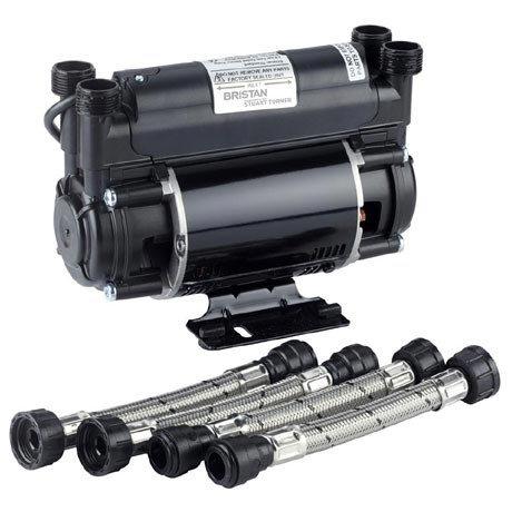 Bristan - 2.0 Bar Twin Impeller Shower Pump - ST-PUMP20TN