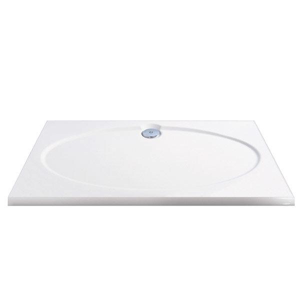 Coram Designer Slimline Rectangular Shower Tray - 2 Size Options Large Image