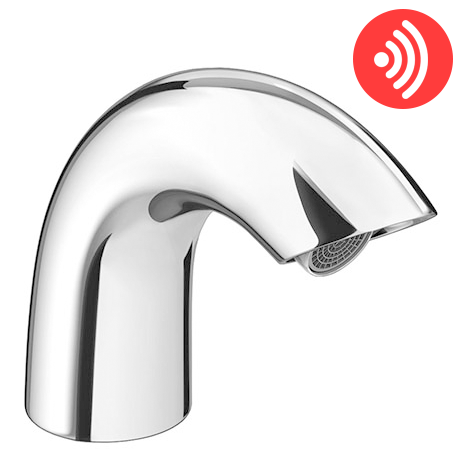 Apollo Curved Infrared Sensor Bathroom Mixer Tap - ST005