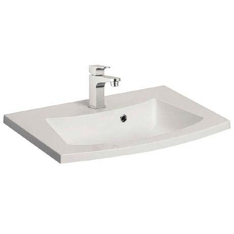 Bauhaus Stream 440mm Mineral Marble Basin 1TH - ST0520SRW