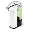 simplehuman Liquid Sensor Pump Soap Dispenser - White - ST1018 profile small image view 1