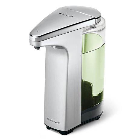 simplehuman Liquid Sensor Pump Soap Dispenser - Brushed Nickel - ST1023
