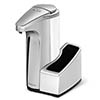 simplehuman Washing Liquid Sensor Pump Dispenser with Caddy - ST1031 profile small image view 1