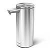 simplehuman Rechargeable Liquid Sensor Pump Soap Dispenser - Brushed Steel - ST1043 profile small image view 1